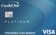 Credit One Bank® Unsecured Platinum Visa