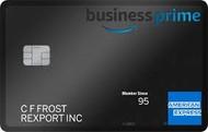 Amazon Business Prime Amerixan Express Card
