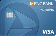 PNC points Visa Credit Card