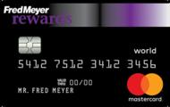 Fred Meyer Rewards® World Mastercard