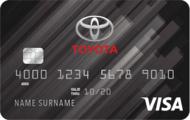 Toyota Rewards Visa Credit Card