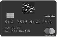 Saks Fifth Avenue Credit Card