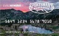 Sportsman's Warehouse Store Card